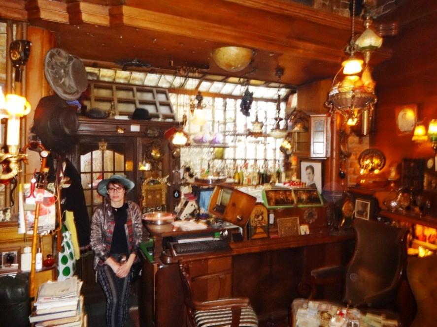 Sarajevo - kafe bar Zlatna Ribica DSC03726